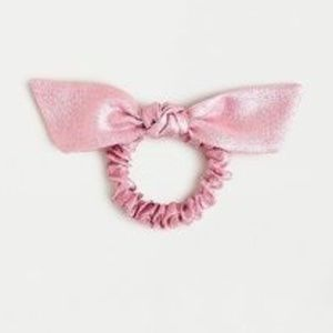 J. CREW Metallic Scrunchie